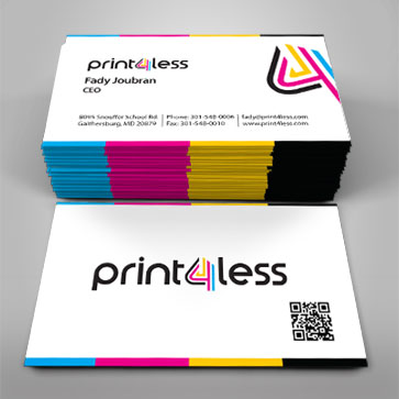 business cards postcards business forms printing print4less - Business Card Printing Company